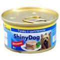 Gimpet ShinyDog Консервы для собак Цыпленок с Тунцом