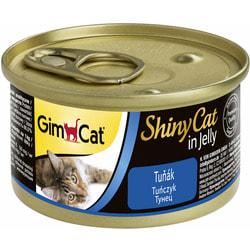 Консервы Gimpet ShinyCat для кошек Тунец в желе