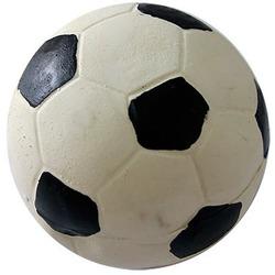 MAJOR Игрушка для собак Мяч футбольный с пищалкой латекс