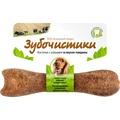 Зубочистики Косточка для собак 10-25кг с кальцием со вкусом Говядины