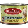 Berkley Консервы для собак №3 Индейка с яблоками