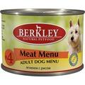 Berkley Консервы для собак №4 Ягненок с рисом