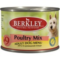 Berkley Консервы для собак №9 Рагу из птицы