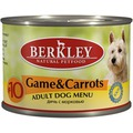 Berkley Консервы для собак №10 Дичь с морковью