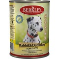 Berkley Консервы для щенков Кролик с овсянкой