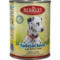 Berkley Консервы для собак Индейка с сыром