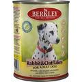 Berkley Консервы для собак Кролик с овсянкой