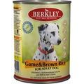 Berkley Консервы для собак Оленина с коричневым рисом