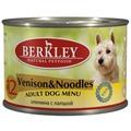 Berkley Консервы для собак №12 Оленина с лапшой