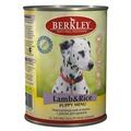 Berkley Консервы для щенков Ягненок с рисом