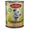 Berkley Консервы для собак Говядина с картофелем