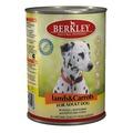 Berkley Консервы для собак Ягненок с морковью
