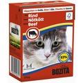Bozita Консервы для кошек кусочки в соусе Говядина