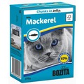 Bozita Консервы для кошек кусочки в желе Скумбрия