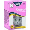 Bozita Консервы для кошек кусочки в соусе Морской коктейль