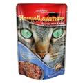 Ночной Охотник Пауч для кошек кусочки в желе Говядина