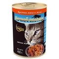 Ночной Охотник Консервы для кошек Мясное ассорти