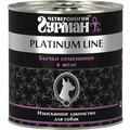 Четвероногий Гурман Platinum Консервы для собак Бычьи семенники в желе
