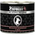 Четвероногий Гурман Platinum Консервы для собак Желудочки индюшиные в желе