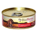 BioMenu Консервы для щенков Говядина