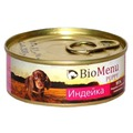BioMenu Консервы для щенков Индейка