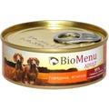 BioMenu Консервы для собак Говядина/Ягненок