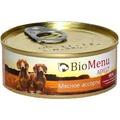 BioMenu Консервы для собак Мясное ассорти