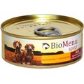 BioMenu Консервы для собак Цыпленок с ананасом