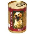 Dog Lunch Консервы для собак Мясное ассорти