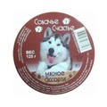 Собачье счастье Консервы для собак Мясное ассорти
