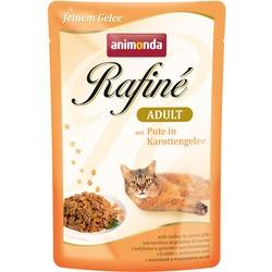 Animonda Rafine Soupe Adult пауч для кошек с индейкой в морковном желе