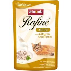 Animonda Rafine Soupe Adult пауч для кошек с домашней птицей в сливочном соусе
