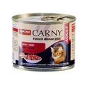 Animonda Carny Adult консервы для кошек с Говядиной и Сердцем