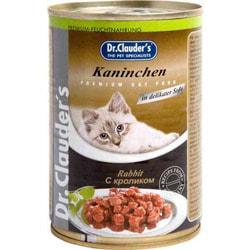 Dr. Clauder`s Консервы для кошек с Кроликом