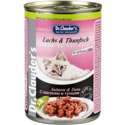 Dr. Clauder`s Консервы для кошек с Лососем и Тунцом