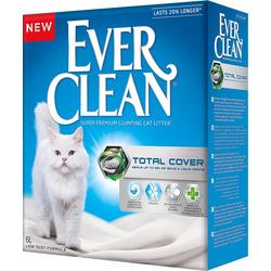 Наполнитель Ever Clean Total Cover с микрогранулами двойного действия