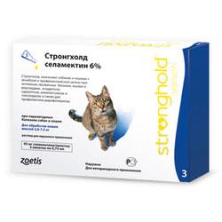 Stronghold Капли для кошек от паразитов