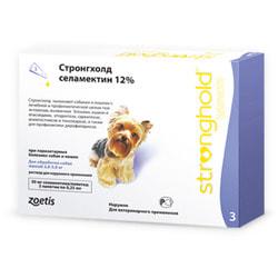Stronghold Капли для собак 2,5-5кг от паразитов