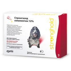 Stronghold Капли для собак 10-20кг от паразитов