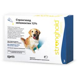 Stronghold Капли для собак 20-40кг от паразитов