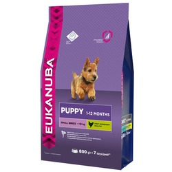 Eukanuba Корм для щенков мелких пород. Puppy&Junior Small Breed