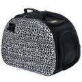 Ibiyaya Складная сумка-переноска для собак и кошек до 6кг, сафари