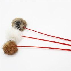Антицарапки Дразнилка для кошек Меховой шарик
