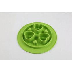 SuperDesign Миска силиконовая для медленного поедания, салатовая