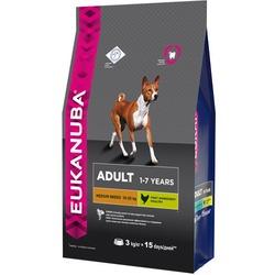 Eukanuba Сухой корм для собак средних пород. Adult Medium Breed