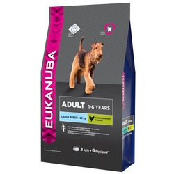 Eukanuba Сухой корм для собак крупных пород. Adult Large Breed