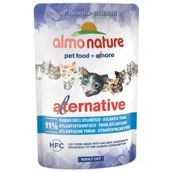 Almo Nature Alternative Паучи для кошек Атлантический тунец 91% мяса. Alternative - Atlantic Tuna