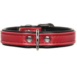 Hunter Ошейник для собак Smart Modern Luxus красный/черный