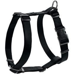 Hunter Smart шлейка для собак эко нейлон черная