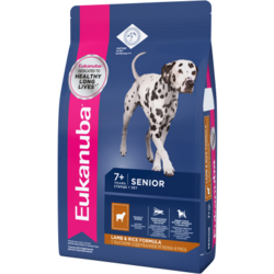 Eukanuba Сухой корм для пожилых собак всех пород ягненок. Senior All Breed Lamb